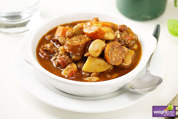 Healthy Bean Soup Recipes Weight Loss  Sausage & Bean Soup