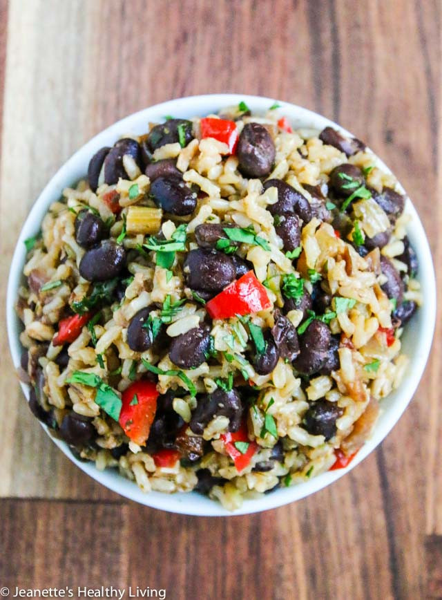 Healthy Beans And Rice Recipe  Costa Rican Rice Recipe Easy