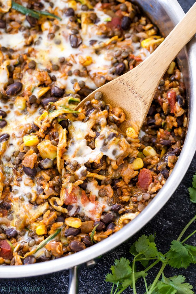 Healthy Beans And Rice Recipe  Mexican Chicken Sweet Potato and Black Bean Skillet
