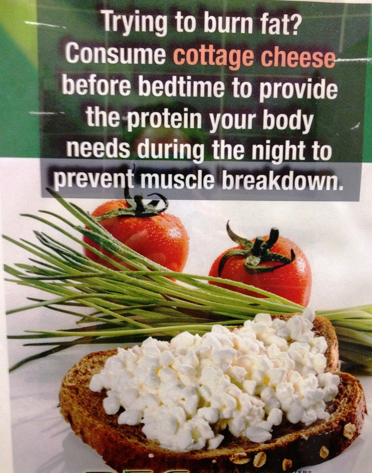 Healthy Bedtime Snacks Bodybuilding  cottage cheese and peanut butter before bed