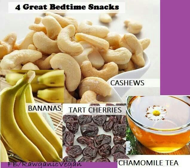 Healthy Bedtime Snacks For Sleep  17 Best images about Healthy LATE NIGHT SNACKS some for