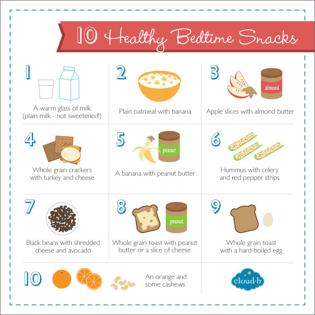 Healthy Bedtime Snacks For Sleep  10 Quick & Healthy Bedtime Snacks to Help Kids Sleep