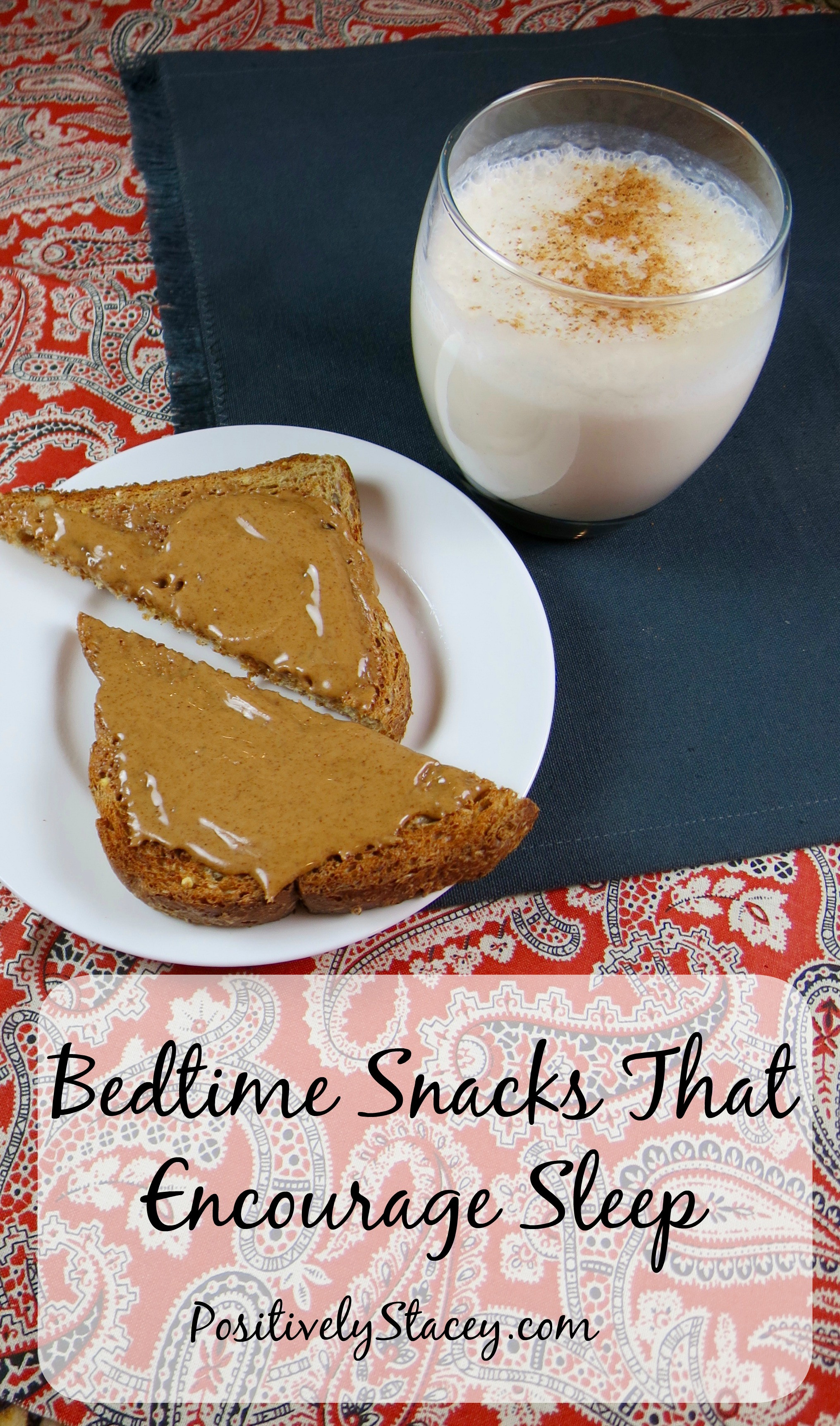 Healthy Bedtime Snacks For Sleep  Bedtime Snacks that Encourage Sleep Positively Stacey