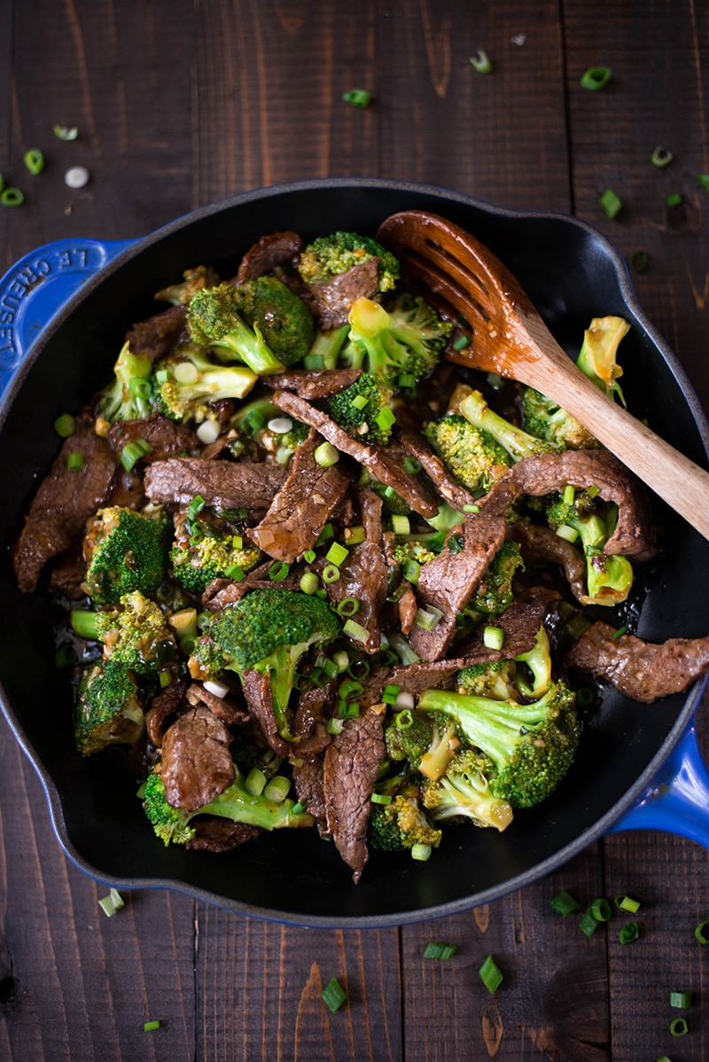 Healthy Beef And Broccoli Recipe  Healthy Beef and Broccoli Recipe • A Sweet Pea Chef