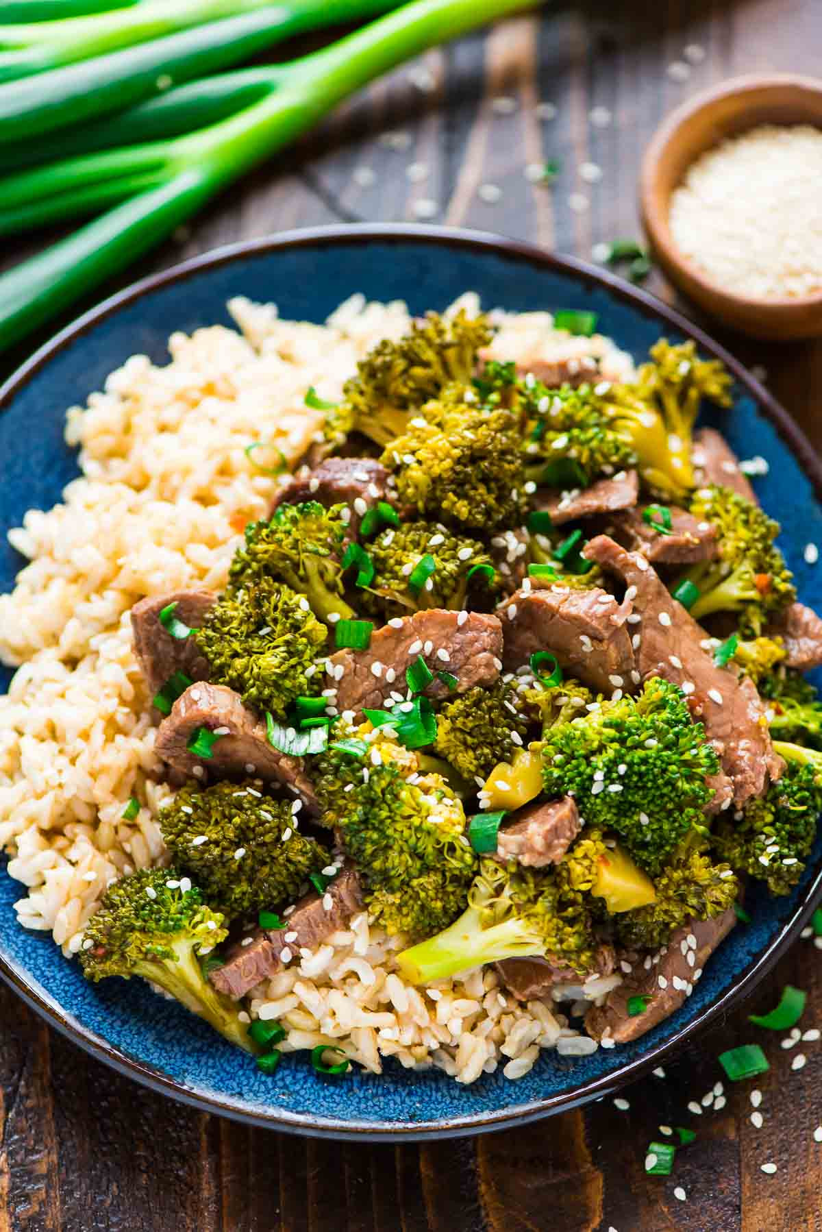 Healthy Beef And Broccoli Recipe  Slow Cooker Beef and Broccoli