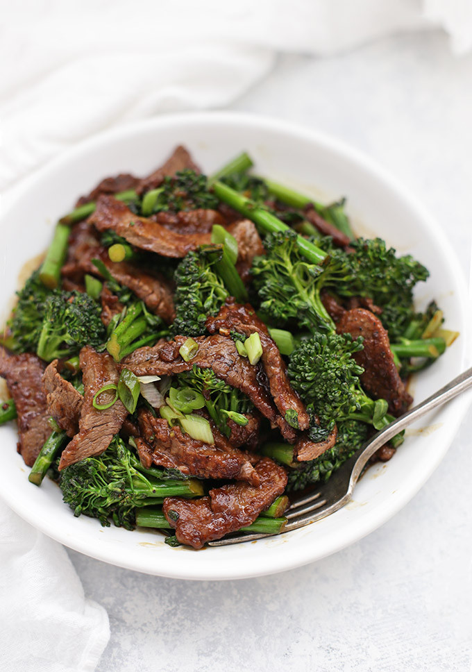 Healthy Beef And Broccoli Recipe  healthy beef broccoli stir fry