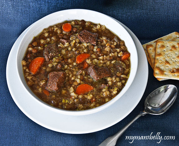 Healthy Beef Barley Soup  Hearty Healthy Beef Barley Soup