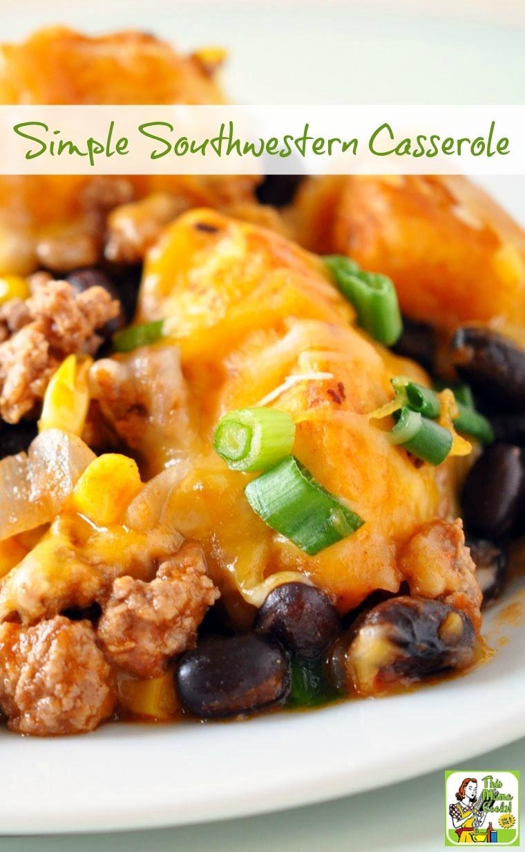 Healthy Beef Casserole  healthy ground beef casserole recipes