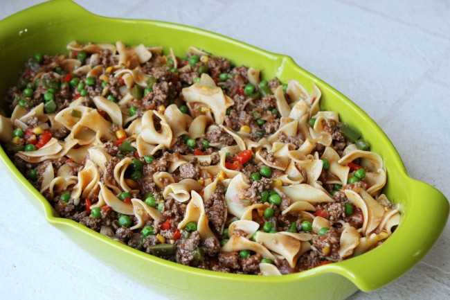 Healthy Beef Casserole  Recipe Skinny Beef Casserole Skinny Mom