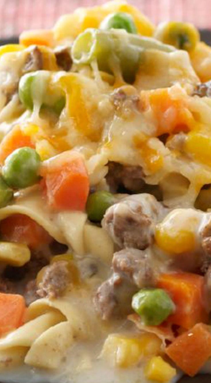 Healthy Beef Casserole  17 Best ideas about Ground Beef Casserole on Pinterest