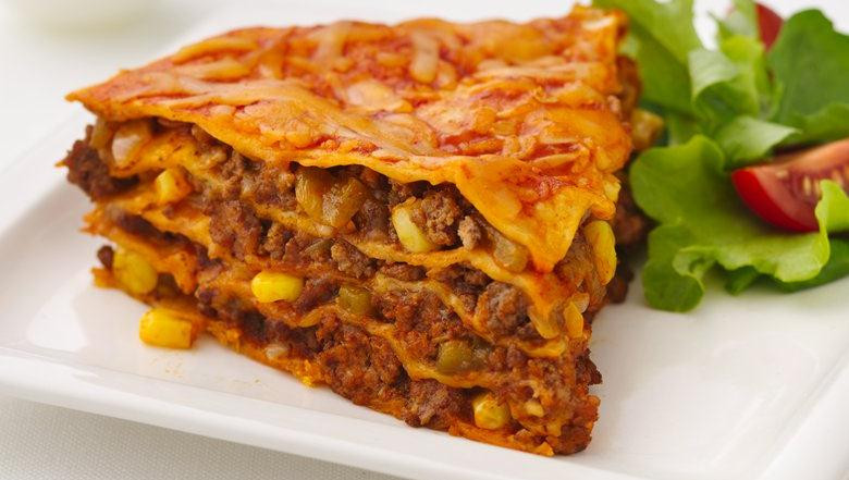 Healthy Beef Enchiladas  Healthy Beef Enchilada Pie Recipe – Mother's Day Special