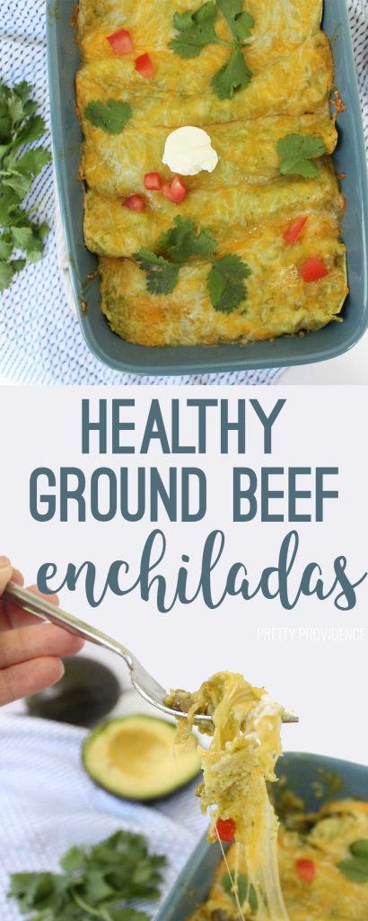 Healthy Beef Enchiladas  Healthy Beef Enchiladas Pretty Providence