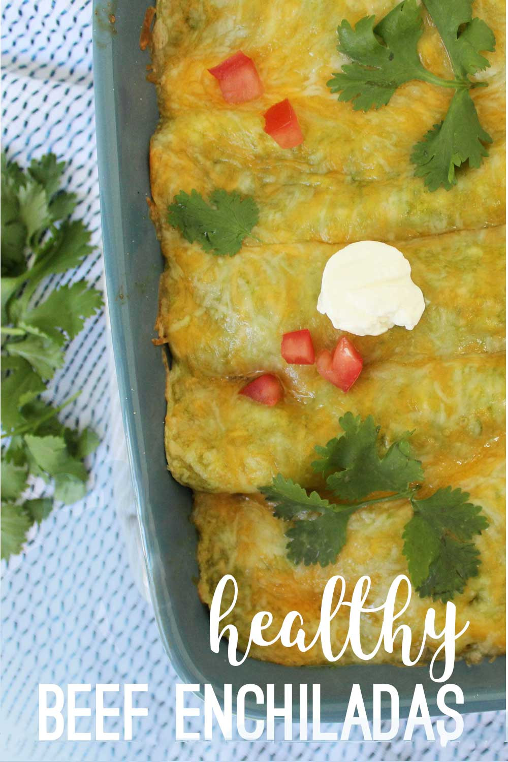 Healthy Beef Enchiladas  50 Unbelievably Healthy Meals Pretty Providence