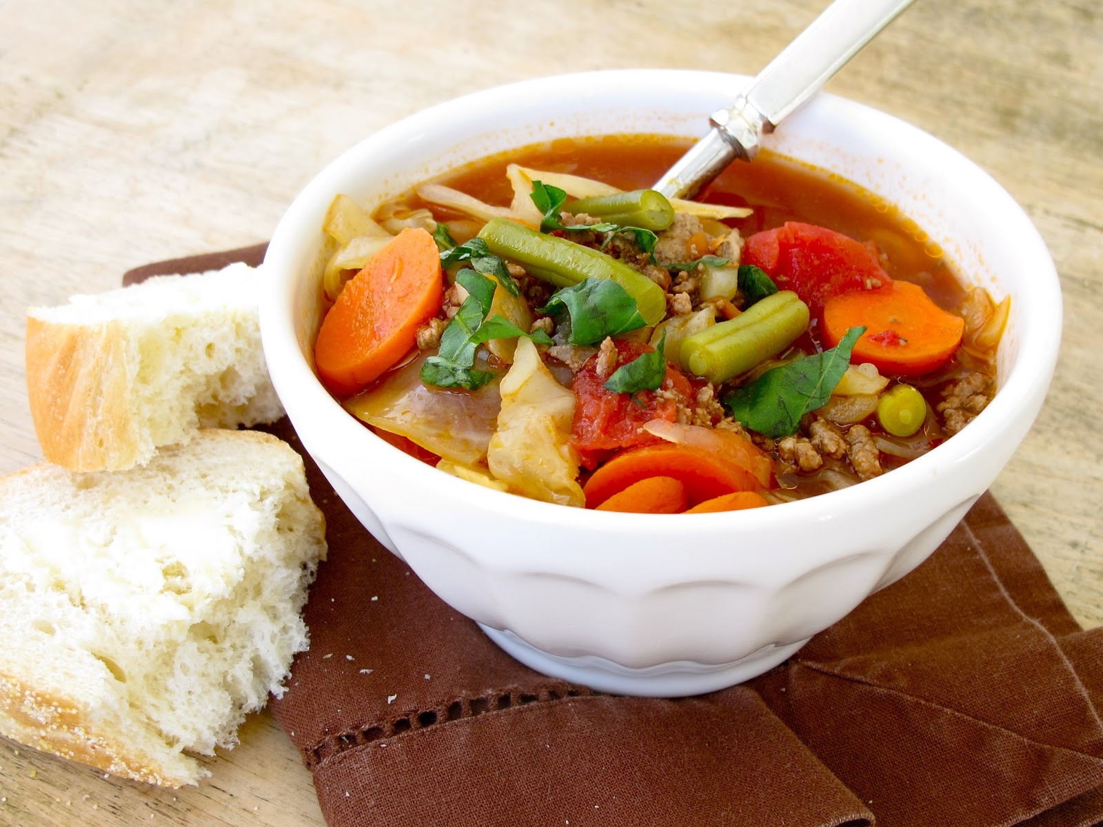 Healthy Beef Soup  Jenny Steffens Hobick Ve able Beef Soup Recipe