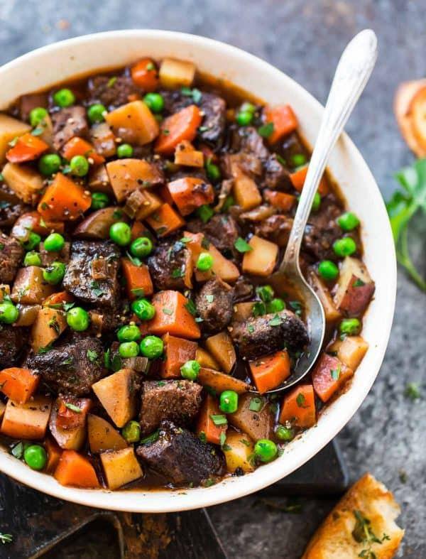 Healthy Beef Stew Crock Pot  Light Beef Stew Crock Pot Recipe