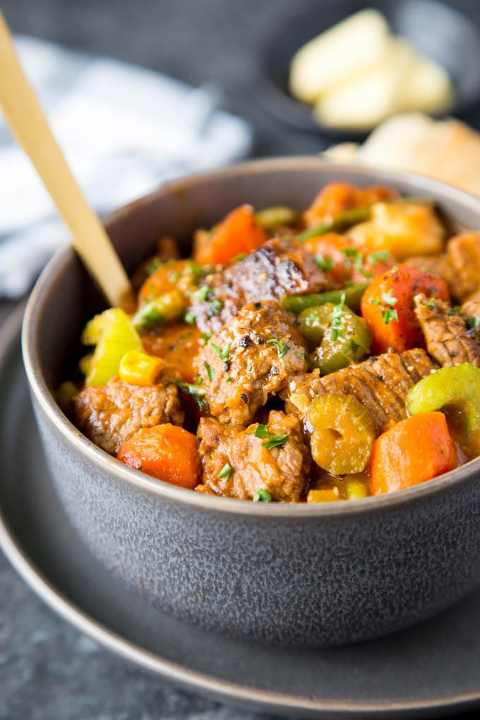 Healthy Beef Stew Crock Pot  Crockpot Beef Stew Simple Healthy Kitchen