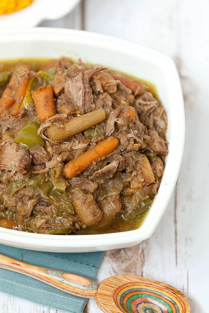 Healthy Beef Stew Recipe Slow Cooker  Slow Cooker Caribbean Beef Stew