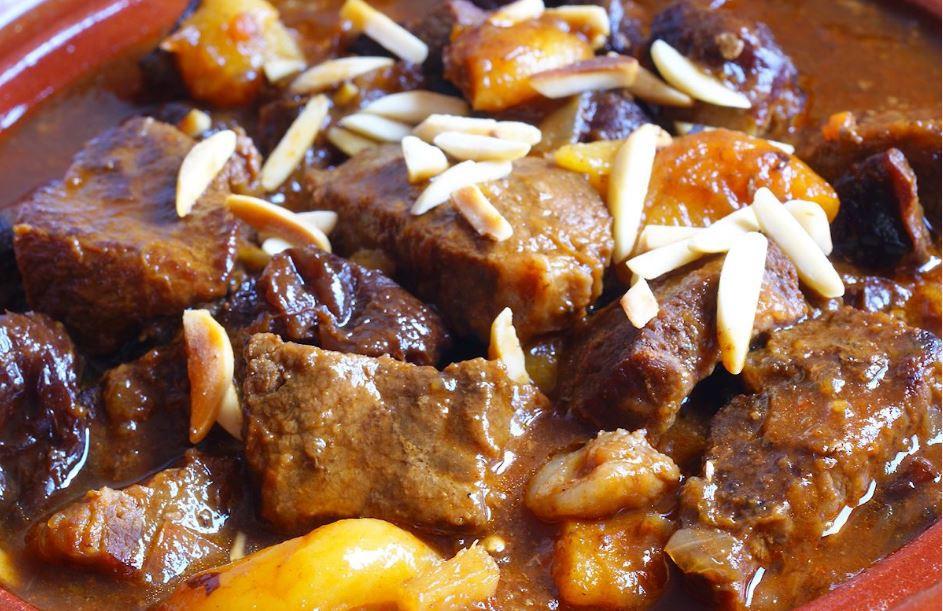 Healthy Beef Stew Recipe Slow Cooker  Slow Cooker Spanish Beef Stew Healthy Dinner Recipe