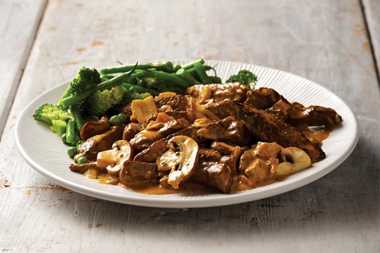 Healthy Beef Stroganoff Recipe  Healthy beef stroganoff recipe