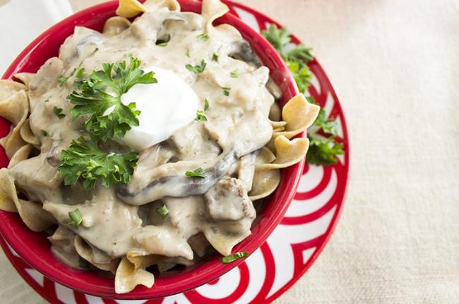 Healthy Beef Stroganoff With Greek Yogurt  Greek Yogurt 50 Ways