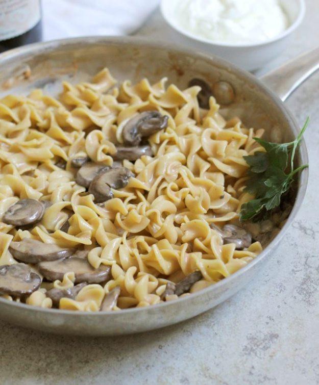 Healthy Beef Stroganoff With Greek Yogurt  Light Mushroom Stroganoff