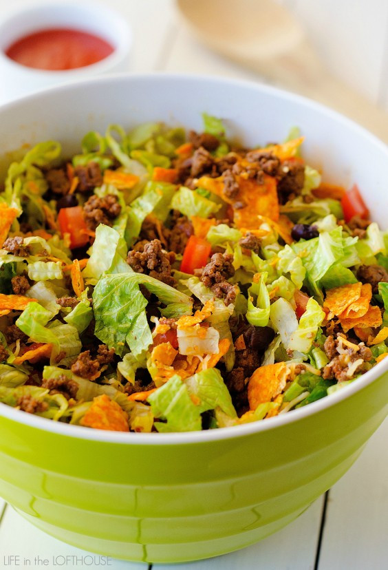 Healthy Beef Taco Salad  Cooking for e 29 Insanely Easy Healthy Meals You Can