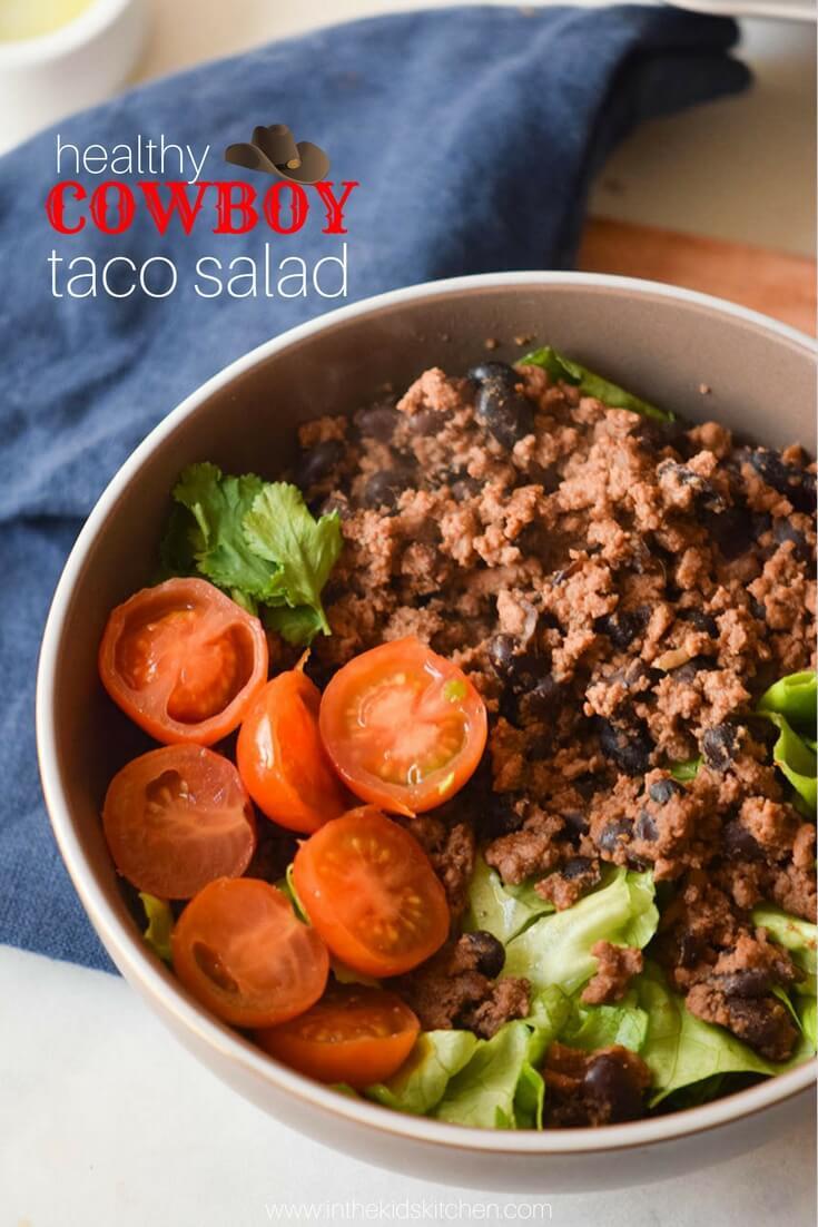 Healthy Beef Taco Salad  Healthy Taco Salad Gluten Free & High Protein Paleo Option