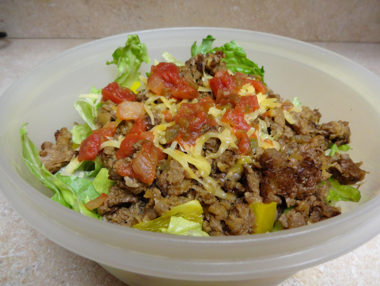 Healthy Beef Taco Salad  Delicious Healthy Taco Salad