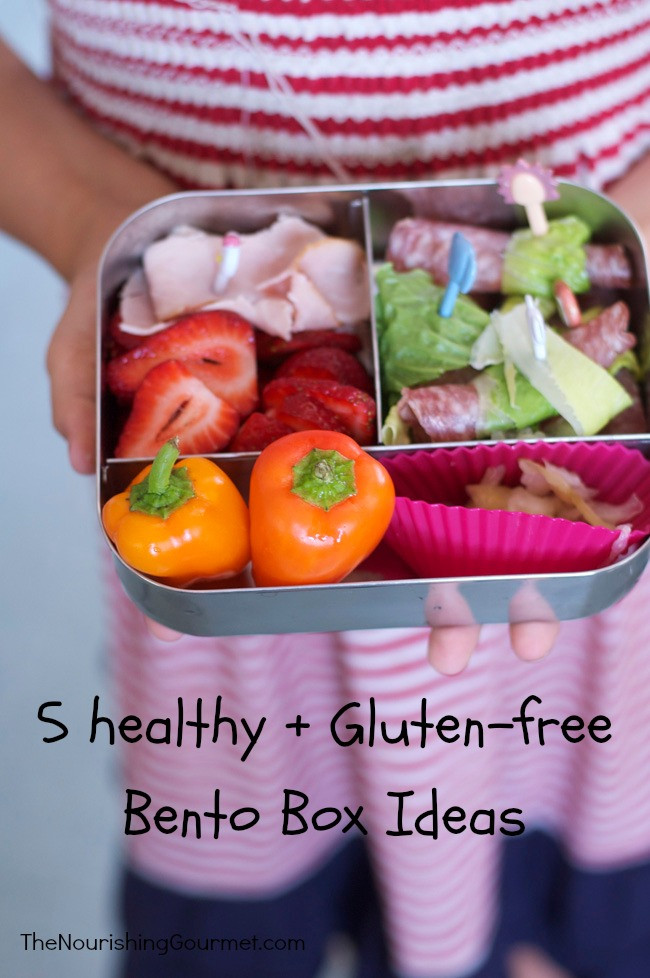 Healthy Bento Box Lunches  5 healthy bento boxes for kids gluten free sandwich free