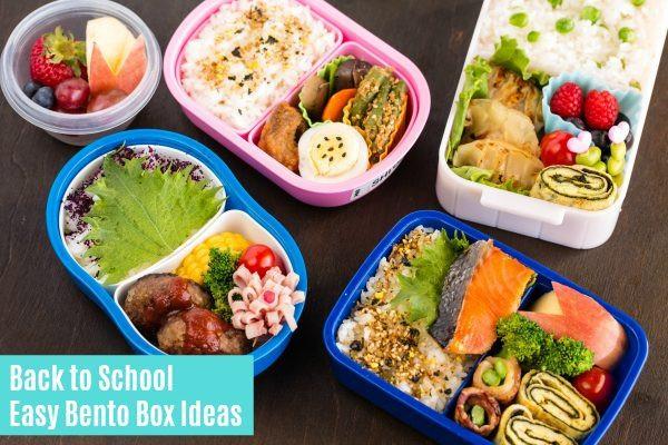 Healthy Bento Box Lunches  Back to School Easy Bento Box Ideas • Just e Cookbook
