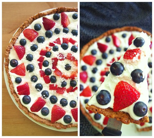 Healthy Berry Desserts  Healthy & Light Berry Dessert Pizza – Simply Taralynn