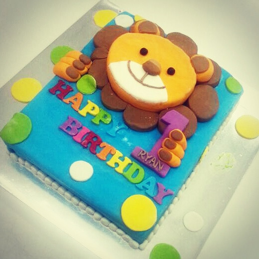 Healthy Birthday Cake For 1 Year Old  e year old Baby 1st Birthday Cake