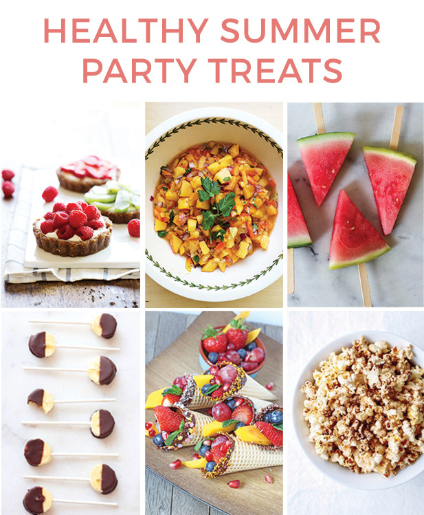 Healthy Birthday Desserts For Adults  Healthy Summer Party Treats