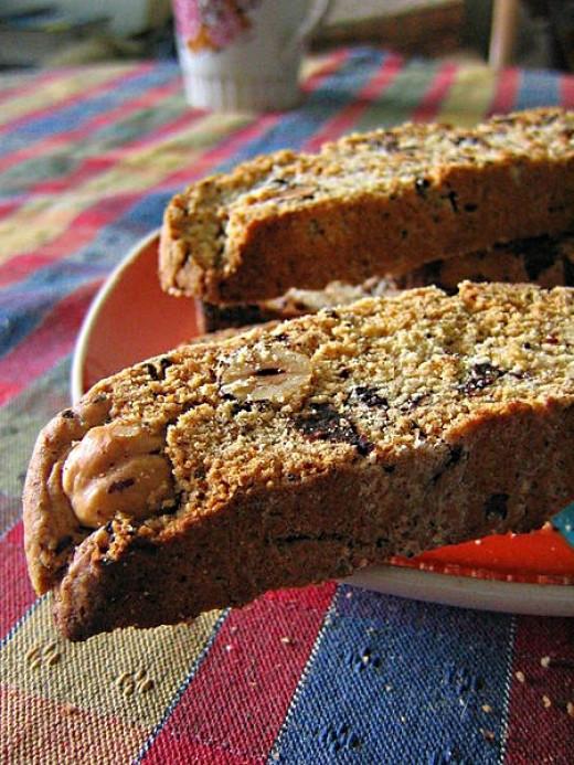 Healthy Biscotti Recipe  Healthy Low Cal Biscotti Recipe Using Whole Wheat Almond