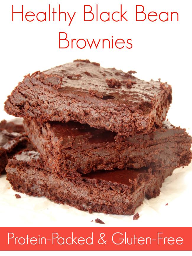 Healthy Black Bean Brownies  Healthy Black Bean Brownies Recipe