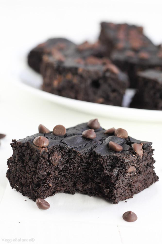 Healthy Black Bean Brownies  Black Bean Brownies Healthy Flourless VeggieBalance