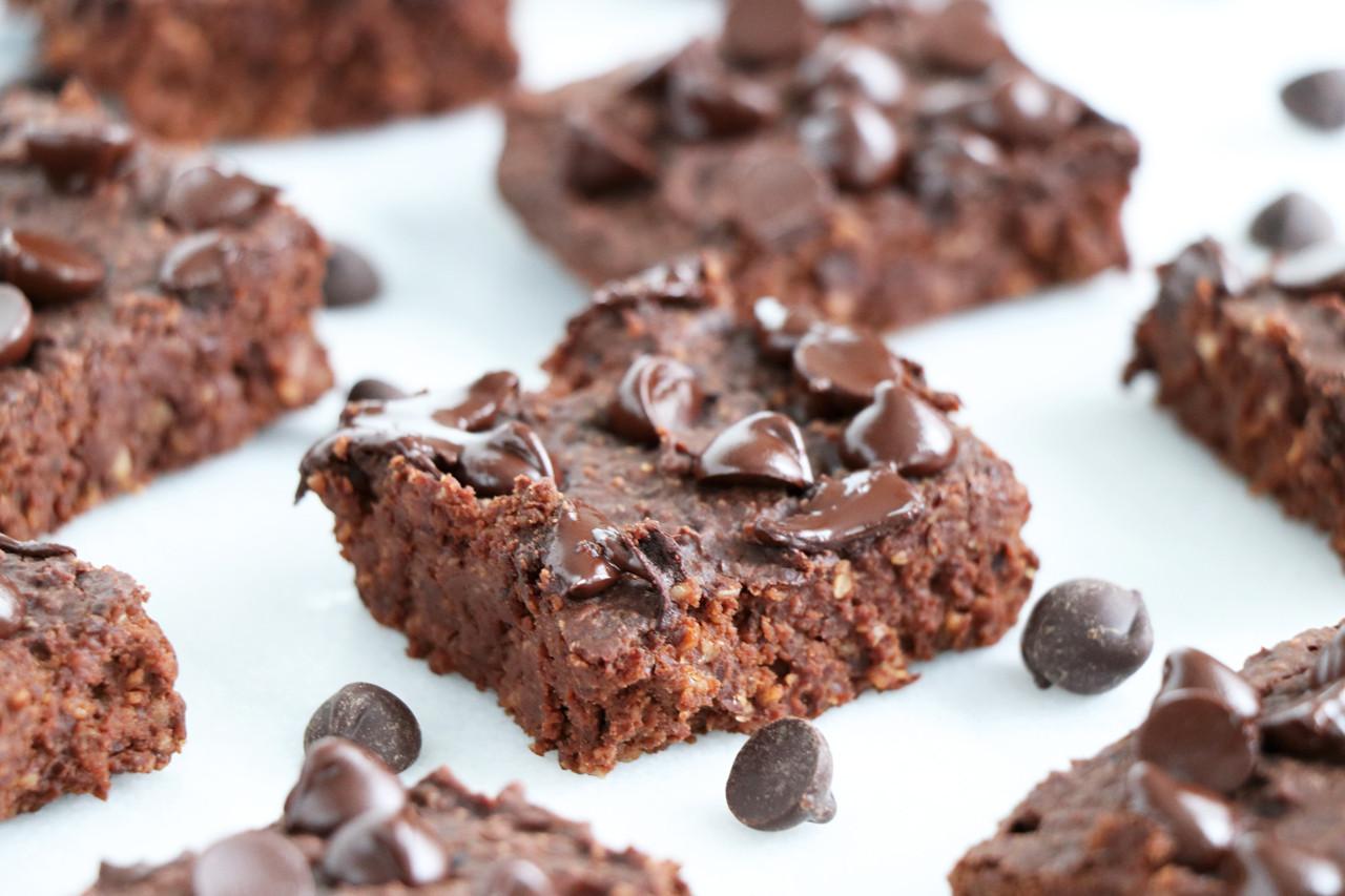 Healthy Black Bean Brownies  healthy black bean brownies