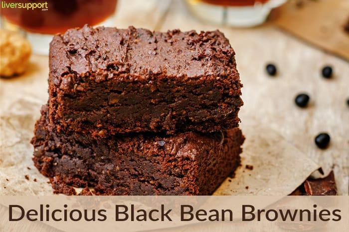 Healthy Black Bean Brownies  Healthy Black Bean Brownies LiverSupport