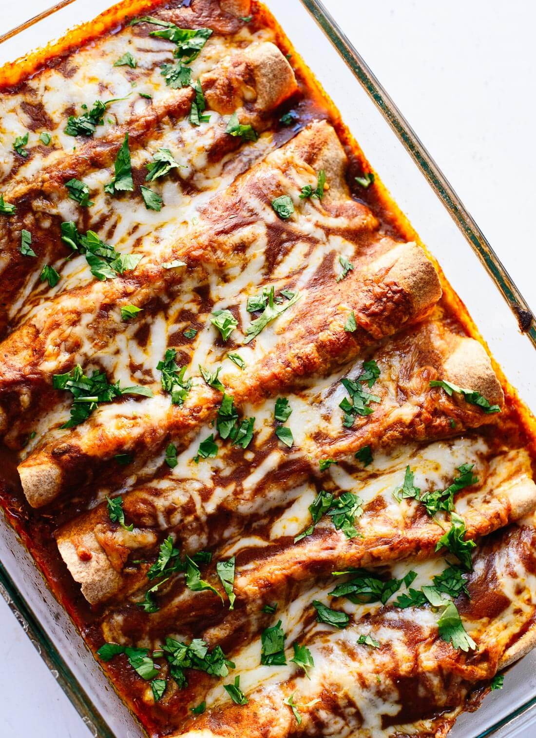 Healthy Black Bean Enchiladas  24 Meatless Recipes that Carnivores Will Love Cookie and