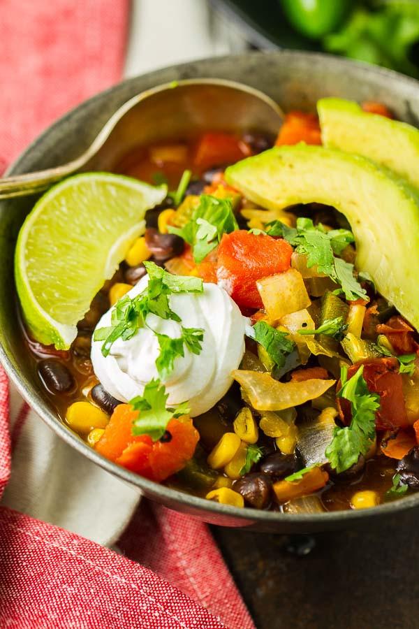 Healthy Black Bean Enchiladas  Healthy Black Bean Enchilada Soup Half Cup Habit