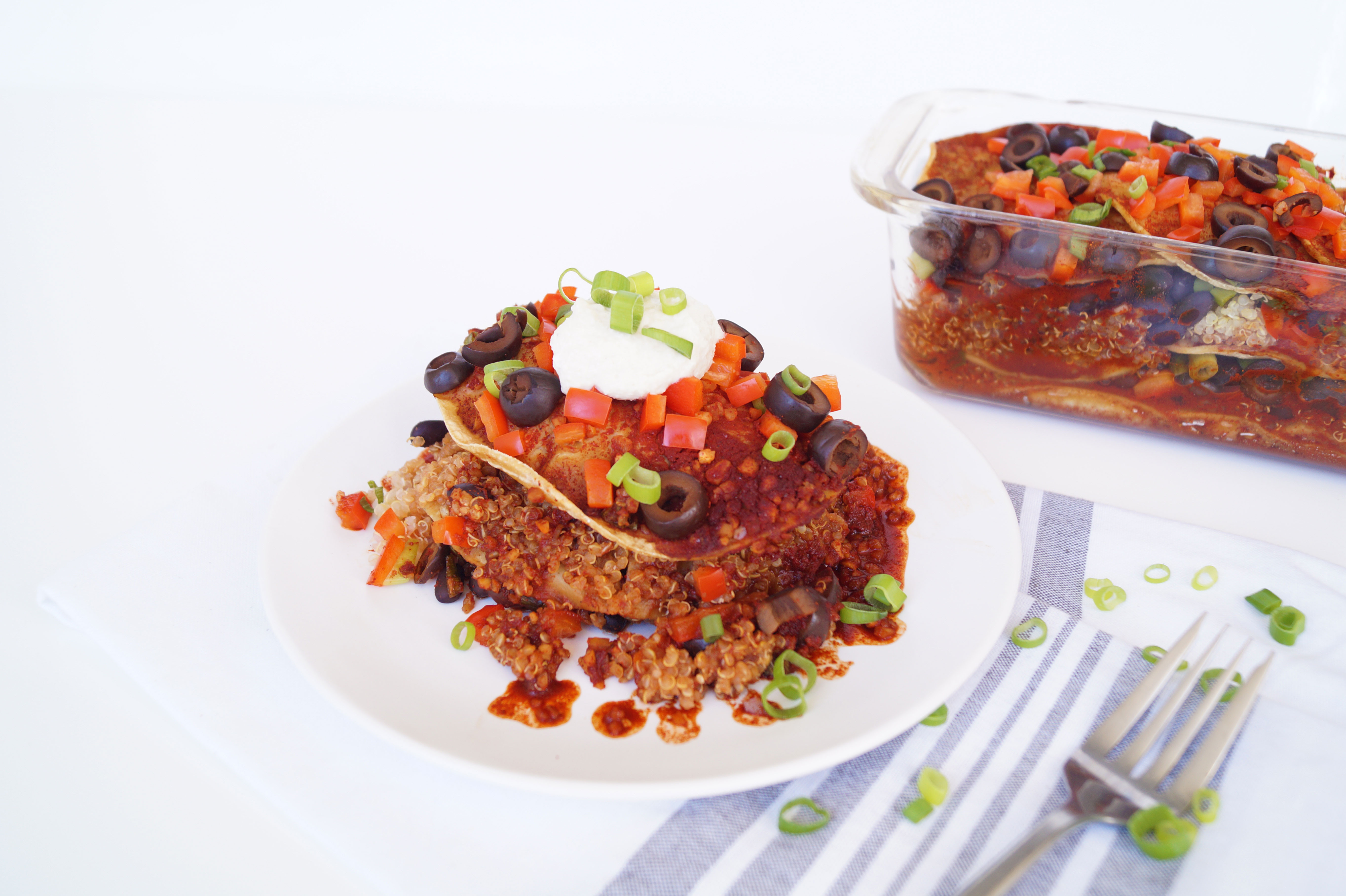 Healthy Black Bean Enchiladas  Healthy Grocery Girl
