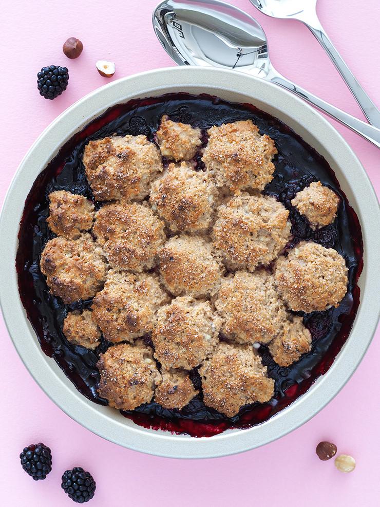 Healthy Blackberry Cobbler  Healthy Blackberry Cobbler The Breakfast Drama Queen