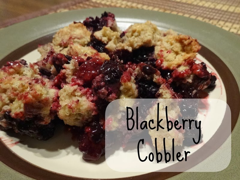 "Healthy Blackberry Cobbler  ""Healthy"" Blackberry Cobbler Simple Moments Stick"