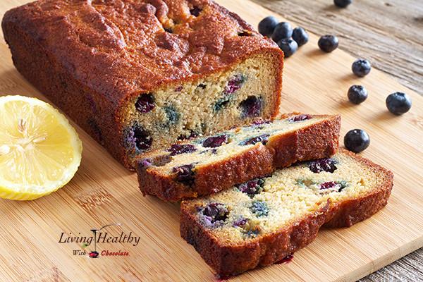 Healthy Blueberry Bread Recipes  Paleo Blueberry Bread With Lemon Glaze Living Healthy