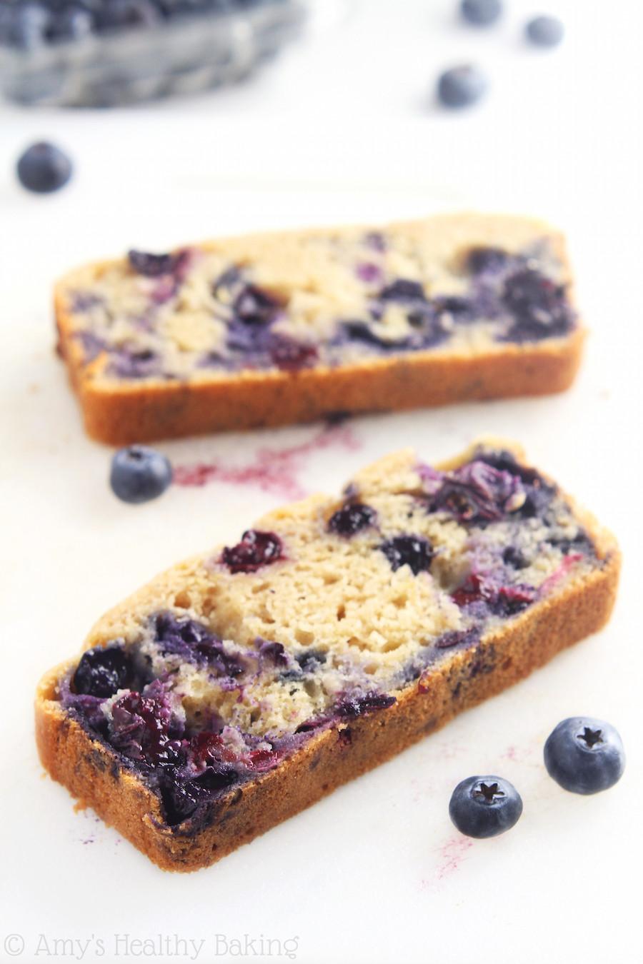 Healthy Blueberry Bread Recipes  Lemon Blueberry Breakfast Loaf