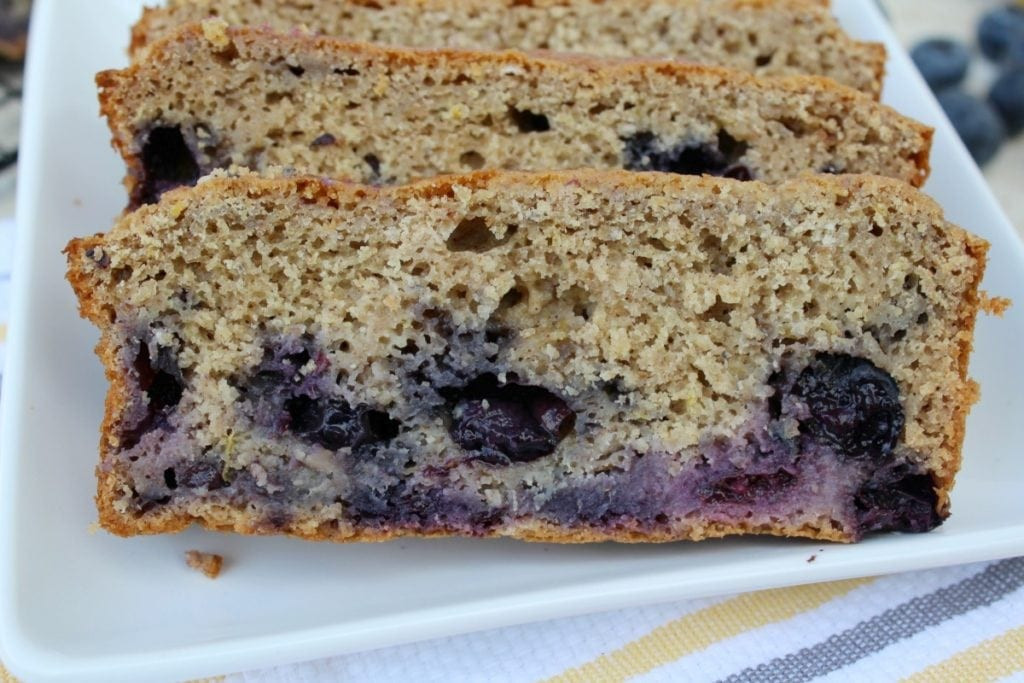 Healthy Blueberry Bread Recipes  Healthy Lemon Blueberry Bread The Clean Eating Couple