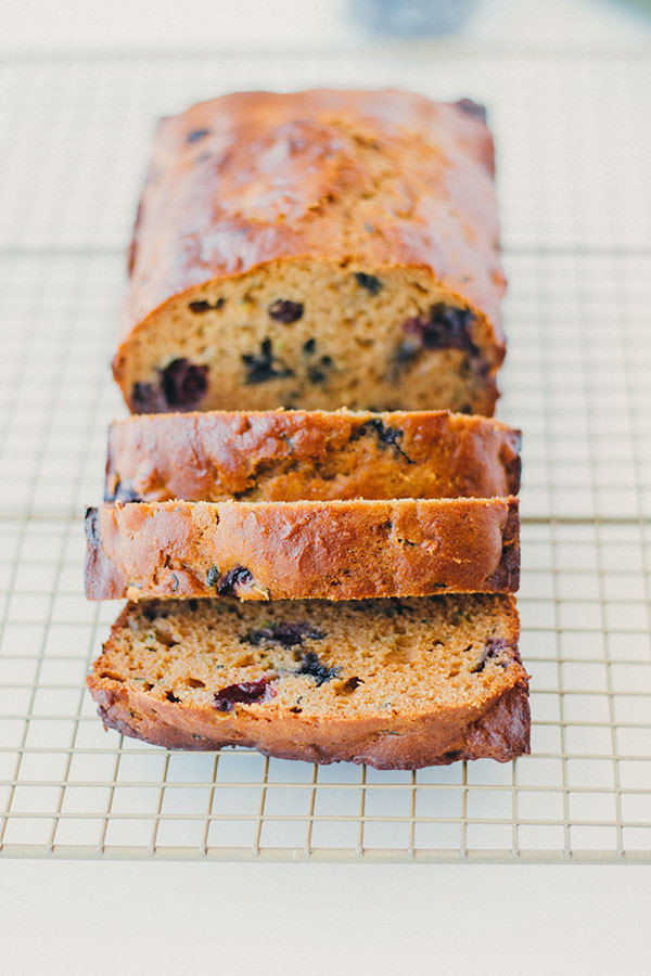 Healthy Blueberry Bread Recipes  healthy blueberry zucchini bread Well Floured