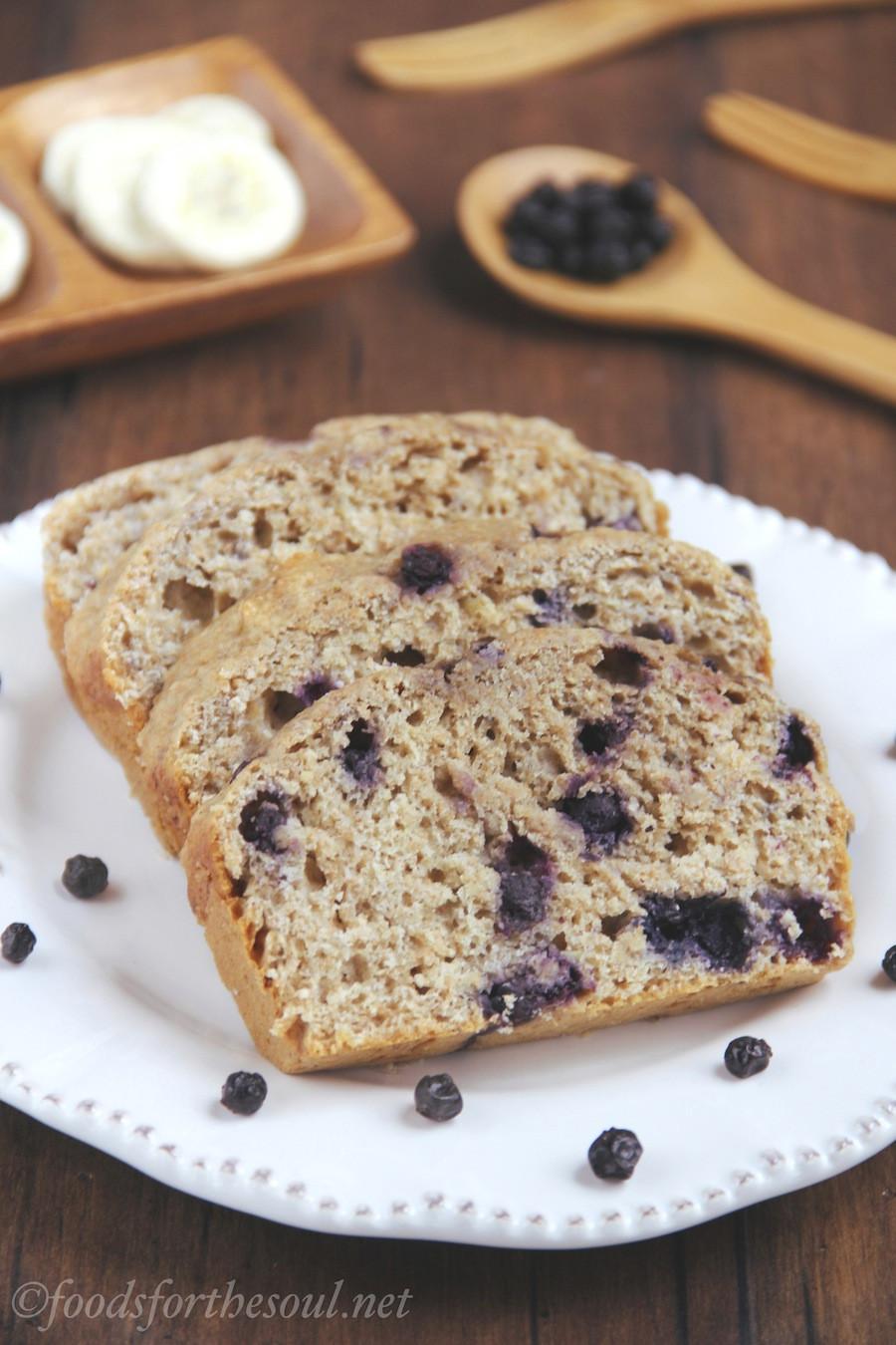 Healthy Blueberry Bread Recipes  Whole Wheat Blueberry Banana Bread