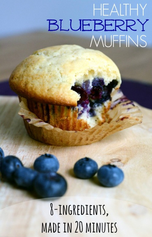 Healthy Blueberry Breakfast Recipes  Healthy Blueberry Muffins Recipe