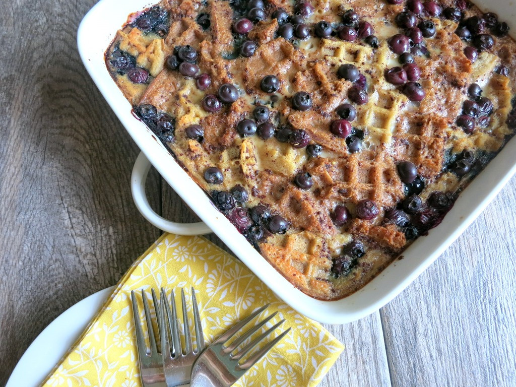 Healthy Blueberry Breakfast Recipes  Blueberry Breakfast Casserole Recipe